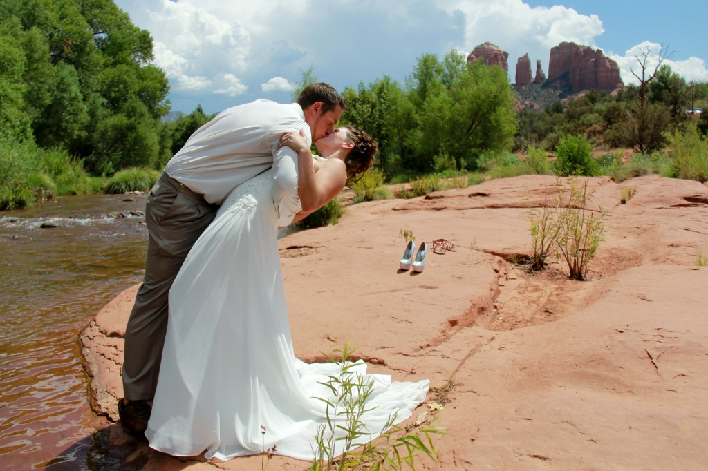 Red Rock Crossing Wedding
